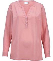blus dress in rosa