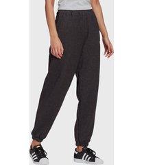 pantalón de buzo adidas originals pants gris - calce holgado