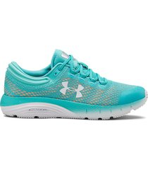 zapatilla turquesa under armour charged bandit 5 w