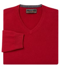 jos. a. bank reserve collection cashmere v-neck men's sweater