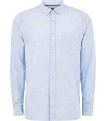 mens light blue rigid regular oxford shirt