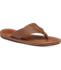 johnston & murphy's men's norris thong sandals men's shoes