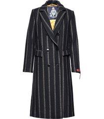 long double breasted tailored wool coat yllerock rock blå scotch & soda