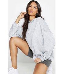 oversized hoodie, grey marl