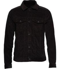 twofer jacket jeansjacka denimjacka svart hollister
