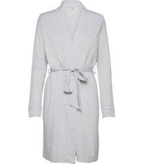 dressing gown morgonrock grå schiesser