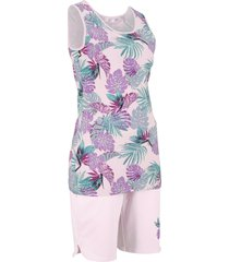 top e shorts (set 2 pezzi) (viola) - bpc bonprix collection