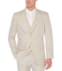 men's big and tall linen cotton herringbone suit jacket