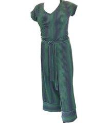 enolah jumpsuit paros green - size 40 / l