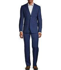 2-pieceslim fit two-button stretch wool-blend suit