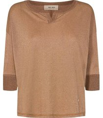blouse kiara bruin
