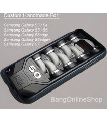 ford mustang 32v tivct engine samsung galaxy s7 s7edge s6 s6edge s5 s4 s3 case