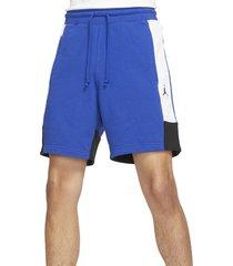 jordan jumpman fleece shorts, size 3x-large in game royal/white/black at nordstrom