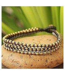 beaded bracelet, 'friend' (thailand)