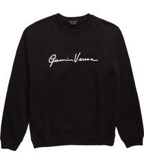 men's versace gianni graphic sweatshirt