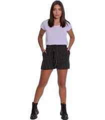 shorts le julie hot pants alfaiataria feminino