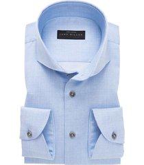 john miller overhemd blauw fine cotton tailored fi