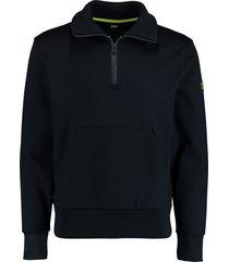 hugo boss sidney sweater donkerblauw rf 50432850/402