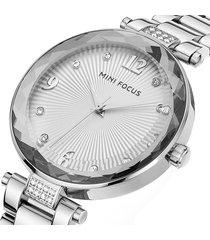 reloj mini focus mf0038l-6 mujer plata