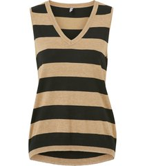 väst cuannemarie striped vest