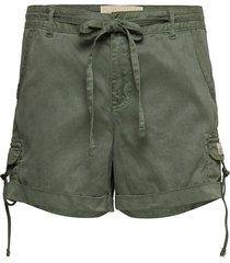tencel cargo short shorts flowy shorts/casual shorts grön superdry