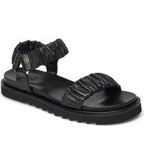 sandals 2752 shoes summer shoes flat sandals svart billi bi