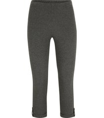 leggings a pinocchietto regolabili (grigio) - bpc bonprix collection