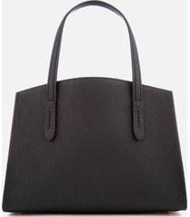 coach women's charlie 28 carryall tote bag - black