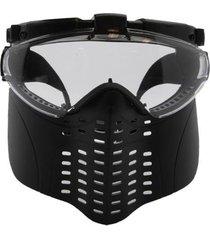 máscara ventz com luz led e ventilador interno nautika
