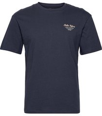 jorhungry tee ss crew neck t-shirts short-sleeved blå jack & j s