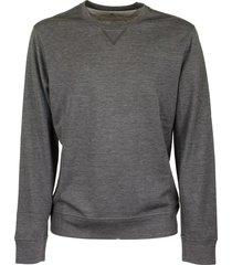 brunello cucinelli lightweight sweatshirt darkgrey