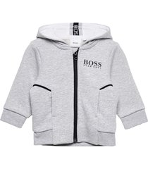 cardigan suit hoodie trui grijs boss