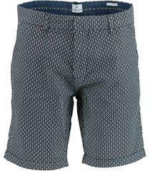 dstrezzed chino shorts square cross str 515078/649 - dstrezzed bermuda donkerblauw 98% katoen / 2% elastaan - dstrezzed bermuda donkerblauw 98% katoen