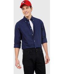 camisa azul tommy hilfiger