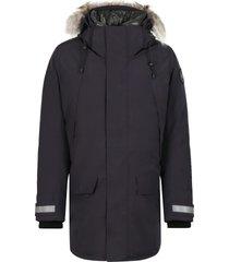 canada goose sherridon hooded parka - black label