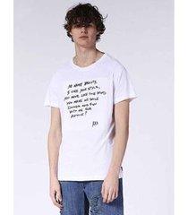 camiseta diesel t-diego-se branco