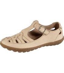sandaletter naturläufer beige