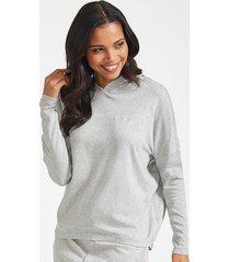 form lounge long sleeve hoodie