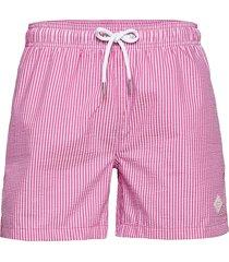 cf seersucker swim shorts badshorts rosa gant