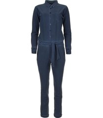 travelwear jumpsuit taime  blauw