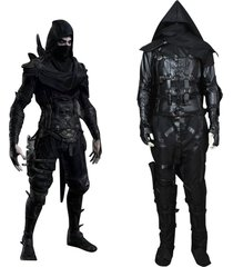 thief garrett cosplay costume men halloween party outfit