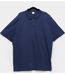 camisa polo wee! plus size básica masculina