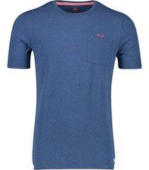 new zealand t-shirt pahiatua navy melange