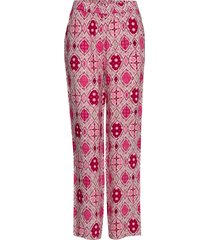 omra pants wijde broek roze unmade copenhagen