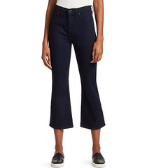 comfort stretch flare jeans