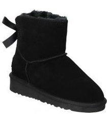 snowboots top3 botines 20857 moda joven negro
