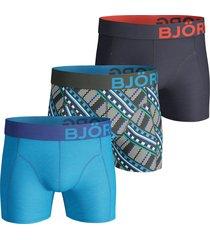 bjorn borg boxershorts 3-pak maasai blauw