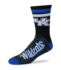 for bare feet kentucky wildcats black script socks