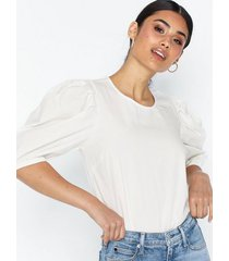 nly trend puffy tee blouse t-shirts