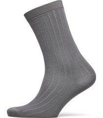 cotton blend socks lingerie socks regular socks grå ganni